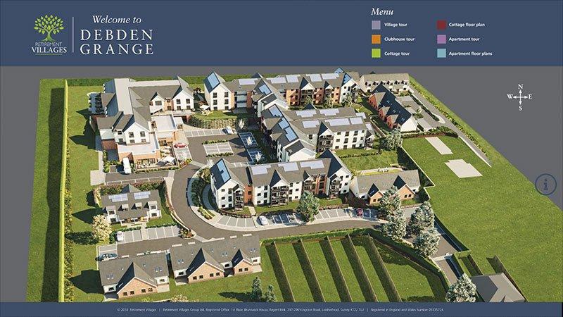 Retirement Villages Interactive Presentation