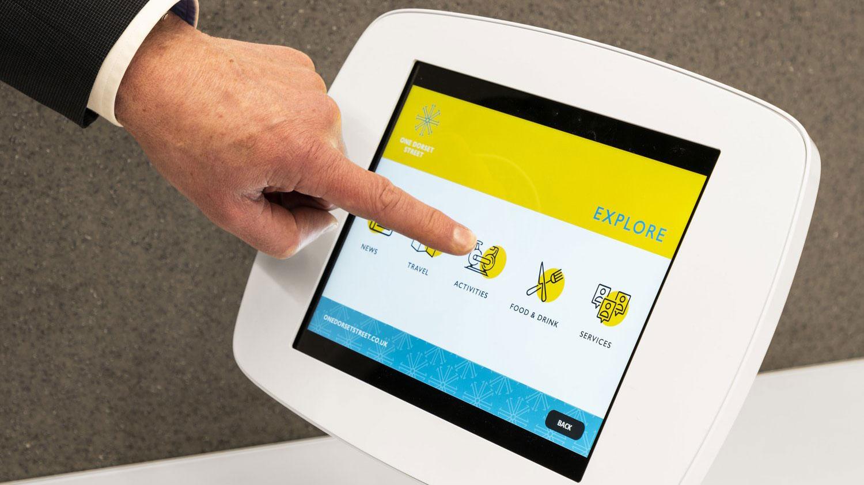 One Dorset Street Interactive Tablet