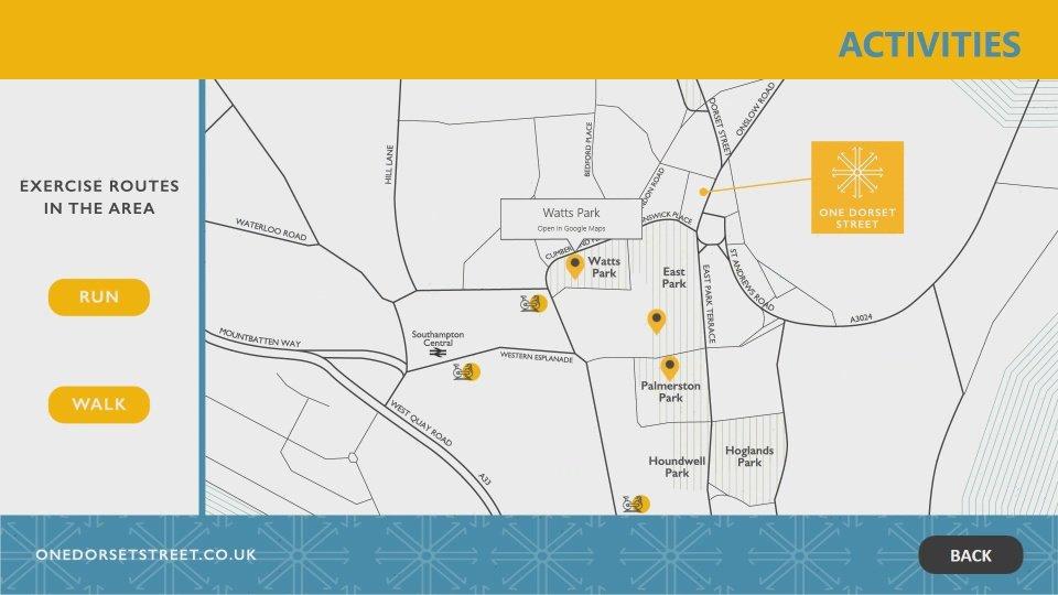 One Dorset Street Interactive Software Activities Page