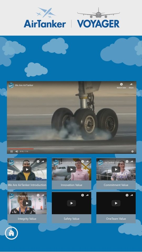 AirTanker Interactive Software Video Page