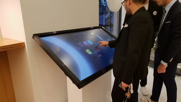 Interactive Kiosk Custom Wrap Printer