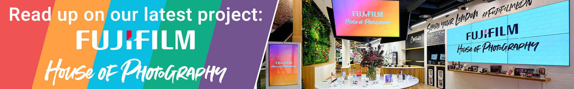 Fujifilm House of Photography Interactive Software Case Study